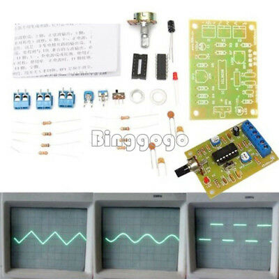 ICL8038 Funktion Signal Generator Module Sine Square Triangle Wave Output KITS