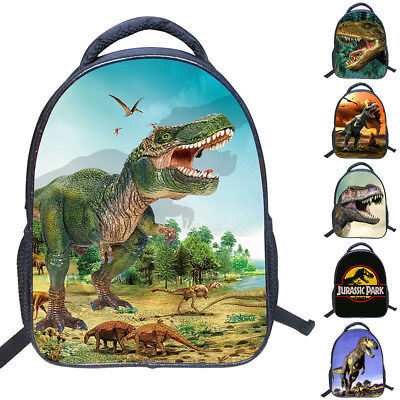 New Dinosaur School Bag Children Boys Girls 3D Backpack Kid Kindergarten Bag US