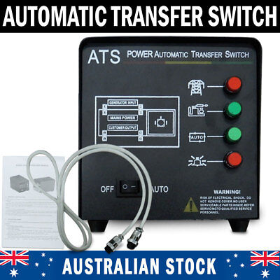 NEW Generator Auto Transfer Switch ATS Controller Module Automatic Switch Powers