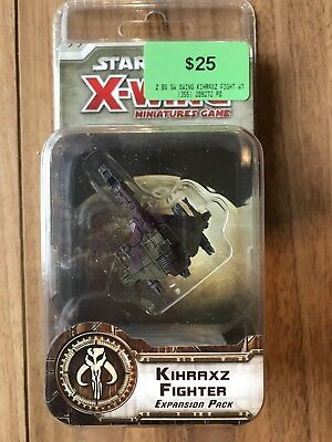 Star Wars X-Wing Miniatures Kihraxz Fighter Expansion Pack Fantasy Flight Games