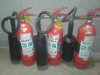 Fire Extinguishers 3.5kg Co2 x 3. Pick up only Mosman,NSW.