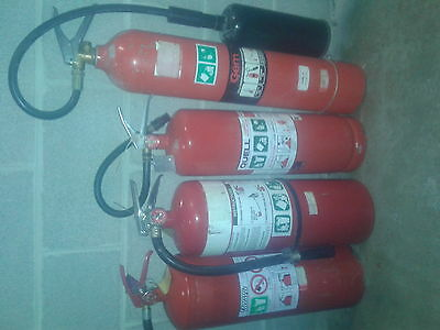 Fire Extinguishers 4 x Larger Size Pick up only from Mosman,NSW.