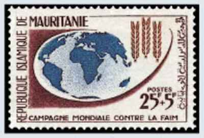 Timbre Mauritanie 164 ** lot 21965