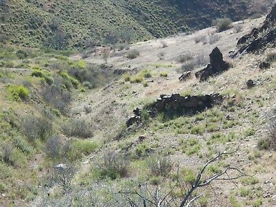 Unpatented Rockhill Canyon Gold Mining Property Nevada Placer Claims 80 Acres!