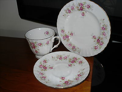 "Duchess Bone China Three piece set - ""June Bouquet"""