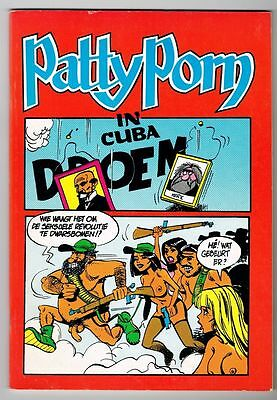 PATTY PORN 2 - IN CUBA (18+) Uitgeverij Interludium 1983 VERY RARE !