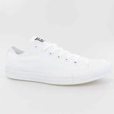 Converse All Star Chucks Ox Mono Chrome Weiss White Schuhe 1T747