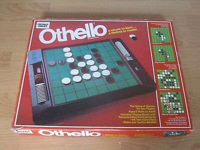 Vintage Othello Game - A Minute To Learn ... A Lifetime To Master - Complete