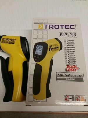Trotec BP 20 Pyrometer, Thermometer, Dual Laser Multi Measure Basic, NEU