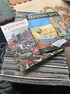 Bulk Lot Of Finding Out Magazine 215 Issues 1960's Vgc