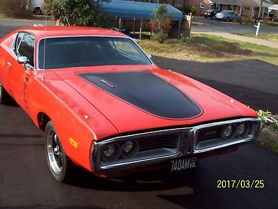 1972 Dodge Charger Rallye Muscle Car 4-Speed