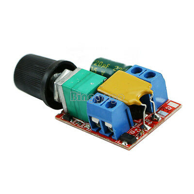 Mini 5A Motor PWM Speed Controller DC 3V-35V Speed Control Switch LED Dimmer