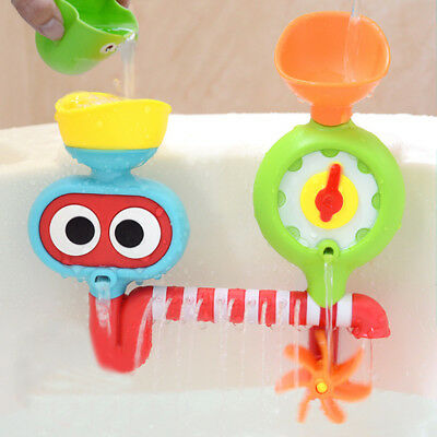 Summer Baby Bath Faucet Toys Spout Spray Shower Water Taps Water Play Kids Gift