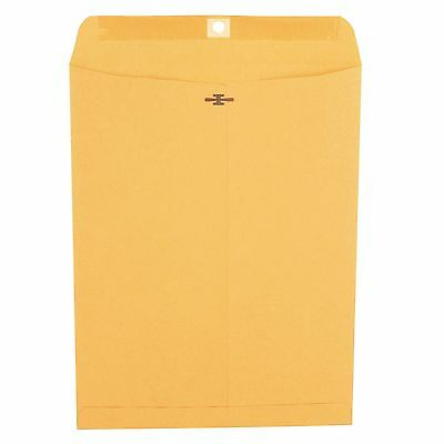 "Universal Clasp Envelope Side Seam 28lb 10"" x 13"" Kraft 100ct. FREE SHIPPING"