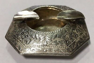 Sterling Silver Vintage Ashtray