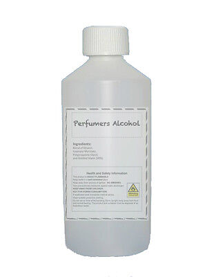 Perfumers Alcohol 250ml : For making perfumes / aftershaves / room sprays etc