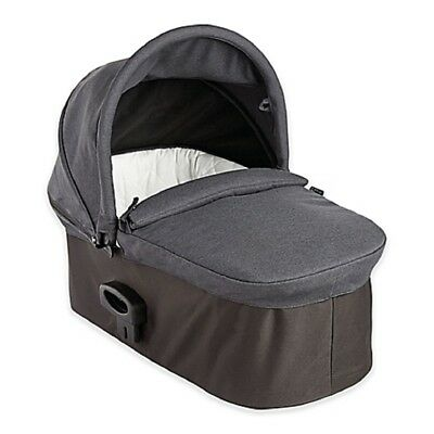 Baby Jogger Deluxe Quilted Pram Carrycot with Sun Visor - Charcoal Denim