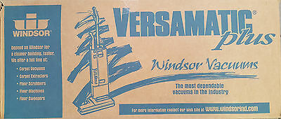 New Windsor Versamatic Plus VSP 14 Upright Vacuum 220/230V 50/60Hz