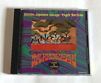 CULT GS COLLECTION Vol.2 TEICHIKU JAPAN CD 1992 Out Cast Voltage Van-Dogs Psych