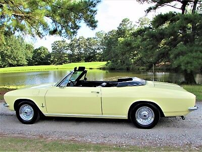 """1965 Chevrolet Corvair Monza Exceptional 1 owner 1965 Corvair Monza Convertible  """"NO RESERVE"""""""