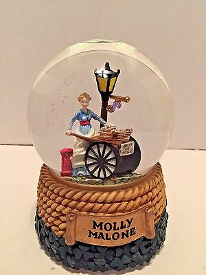Vintage Musical Waterball Molly Malone Snow Globe