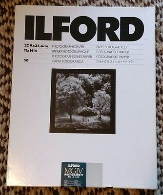 "Ilford 11 x 14"" Multigrade IV RC Deluxe B&W Paper Pearl Surface 30 Sheets"