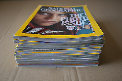 JOB LOT 12x NATIONAL GEOGRAPHIC magazines issues November 2013 to September 2014