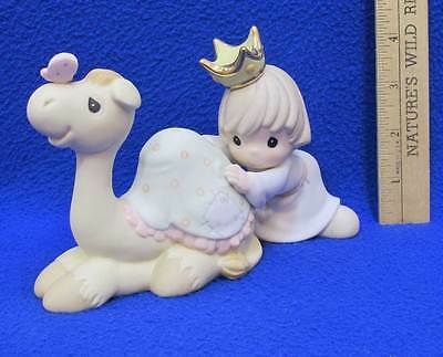 Precious Moments Figurine Royal Budge is Good for the Soul Nativity Camel Boy