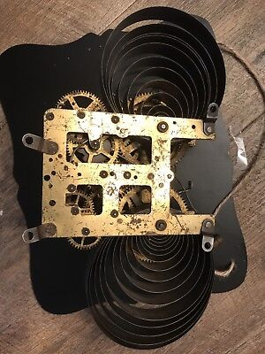 "ANTIQUE WATERBURY KITCHEN PARLOR CLOCK MOVEMENT.  5 3/8"". See Details. ""6"""