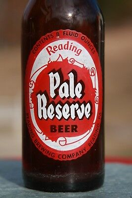 Reading Pale Reserve ACL Beer Bottle Empty