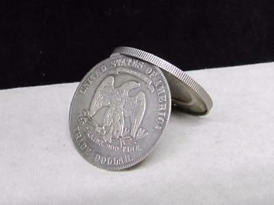 """1877, """"Box"""" Silver Trade Dollar--Very Made Well!"""