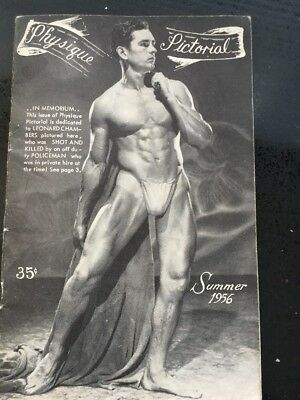 Vintage 'Physique Pictorial' Magazine Collection (11 magazines).