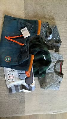 Boys 9-12 months autumn winter bundle trousers shirts jumpers, some BMWT