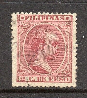 Philippines 1890s Classic Alfonso Used Value 2c. 182448