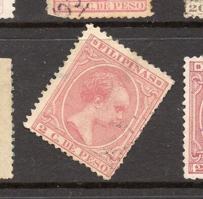 Philippines 1890s Classic Alfonso Used Value 2c. 182446