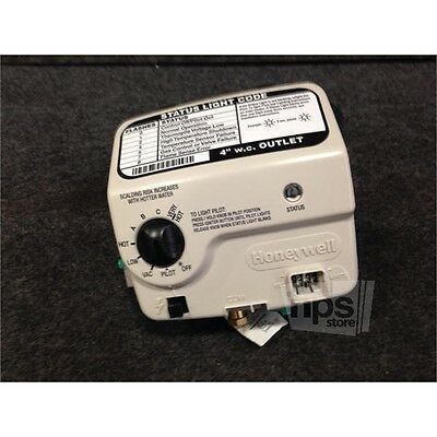 """Honeywell 100262939 Reliance Natural Gas Control Valve, 4.0"""" WC"""