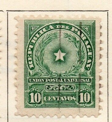 Paraguay 1913 Early Issue Fine Used 10c. 181466