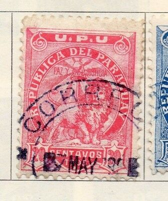Paraguay 1903-05 Early Issue Fine Used 20c. 181414
