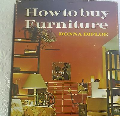 Mid-C. Mod./Hollywood Regency Style Explained! 1972 How to Buy Furniture -Difloe