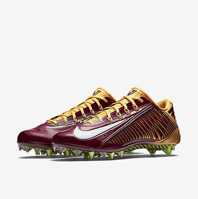 Nike Vapor Carbon Elite 2.0 2014 TD Football Cleats Yellow Red  657441-632