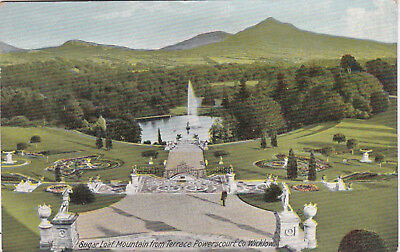 Yp 12  Sugar Loaf Mountain From Terrace,  Powerscourt, Co. Wicklow.