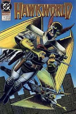 Hawkworld (1990 series) #1 in Very Fine condition. FREE bag/board