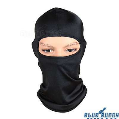 Motorcycle Biker Outdoor Mask Cycling Balaclava Full Face Neck Protector Black