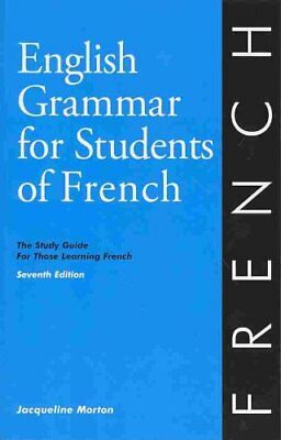 English Grammar for Students of French 7th edition 9780934034425