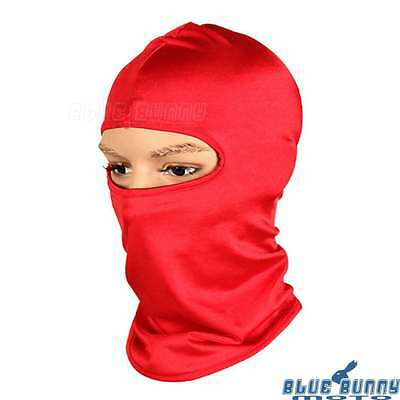 Outdoor Full Face Mask Ski Cycling Hat Cap Balaclava Cover Neck Protector Red