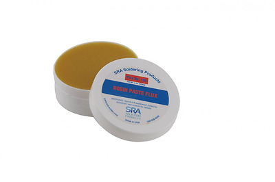 Rosin Paste Flux #135, for electrical & electronic repairs, 2 oz