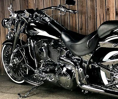 "2003 Harley-Davidson Softail  100th Anniversary Harley Davidson Softail 21"" Wheel True Dual Road King Nacelle"