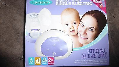 Lansinoh Single Electric Breast Pump Brand New