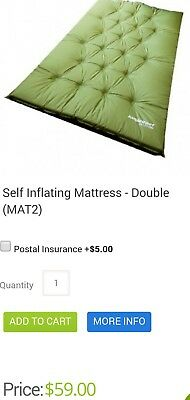 self inflating mattress double