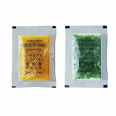 60 Packs 10 Gram Orange Premium Indicating Silica Gel Packets - RECHARGEABLE